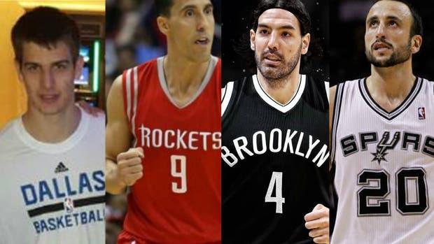 Cuánto cobrarán los argentinos de la NBA