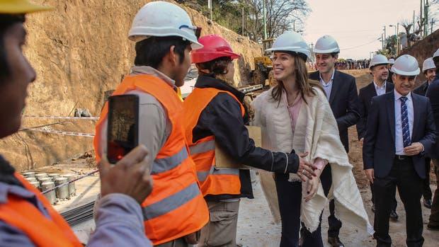 Vidal presentó su plan de obras en La Plata, foco de la inundación de 2013