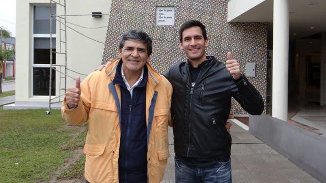 Crismanich y el arquitecto de la Casa Garrahan en Chaco, un edificio que se levanta con la solidaridad de los vecinos