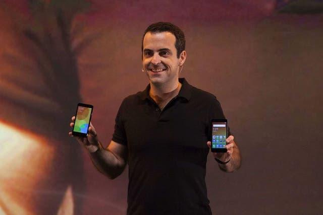 Hugo Barra, vicepresidente internacional de Xiaomi, durante la presentación de la compañía en San Pablo