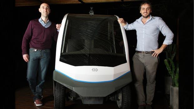 Alejandro Repetto y Enrique Cortés Funes, dos de los fundadores de Space AI