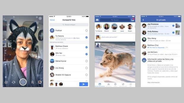 Facebook Stories llega a la Argentina