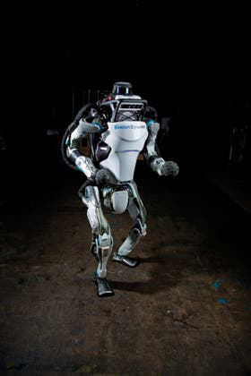 Atlas, el ágil robot de Boston Dynamics