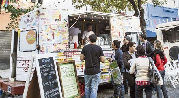 Hasta ahora, los food trucks solo pueden funcionar en eventos privados