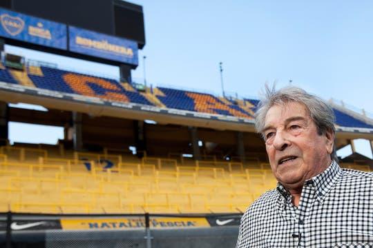 A 50 años, el Tano Antonio Roma revivió su tarde de gloria en la Bombonera. Foto: Sebastián Rodeiro