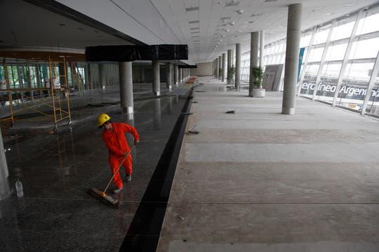 A partir del 16 de diciembre, los pasajeros que circulen por Aeroparque se encontrarán con una nueva terminal para vuelos de cabotaje. Foto: LA NACION / Maxie Amena
