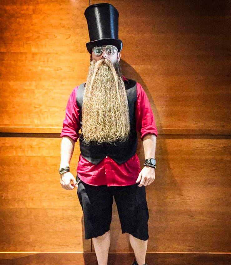 Lance Wooton, embajador para la marca de accesorios Mean Beard.