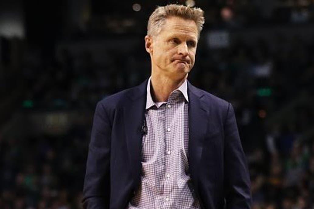 El entrenador de los Warriors expresó su malestar respecto al presidente Trump