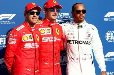 Vettel, Leclerc y Hamilton, tras la clasificación: ellos animarán la salida en Spá