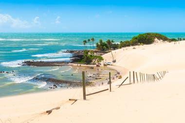 Si se alquila por Airbnb para el mes de enero, la ciudad brasileña de Natal es en promedio más barata que Pinamar y Mar de las Pampas