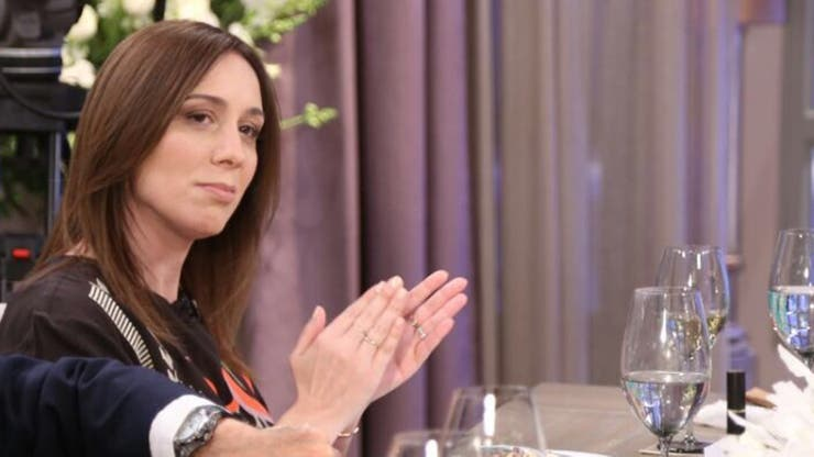 La gobernadora de la provincia de Buenos Aires, María Eugenia Vidal
