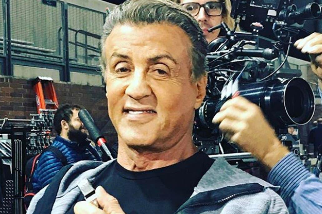 Sylvester Stallone, 71 años a puro