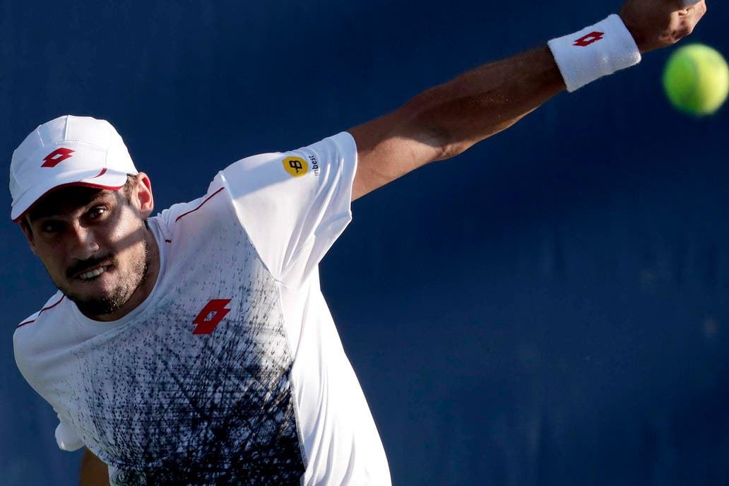 Pella perdió ante Basilashvili se despidió del US Open