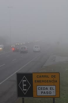 Las autopistas Ezeiza-Cañuelas, La Plata-Buenos Aires y Riccheri fueron las más afectadas. Foto: DyN
