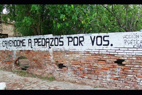 Acción Poética Chaco. Foto: Facebook