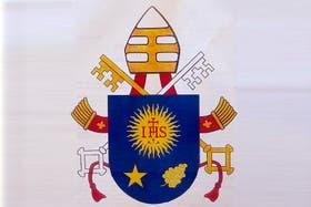 El nuevo escudo del Papa