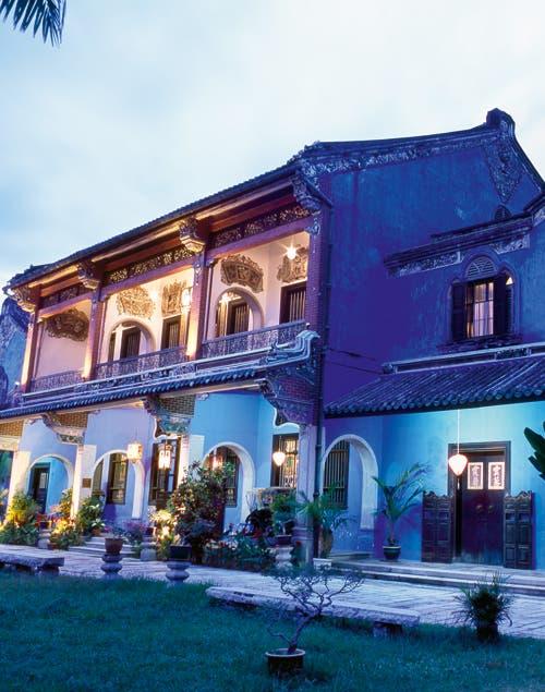 Aires de China, India y Arabia conviven en esta mansión del siglo XX..