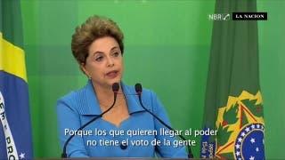 """Rousseff dice sentirse """"injusticiada"""" por inicio de su juicio político"""
