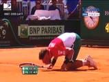 Copa Davis: el punto que le dio el triunfo a Italia