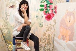 """Florencia """"Hana"""" Ciliberti, la mujer que con su arte concientizó sobre la trombofilia en mujeres embarazadas"""