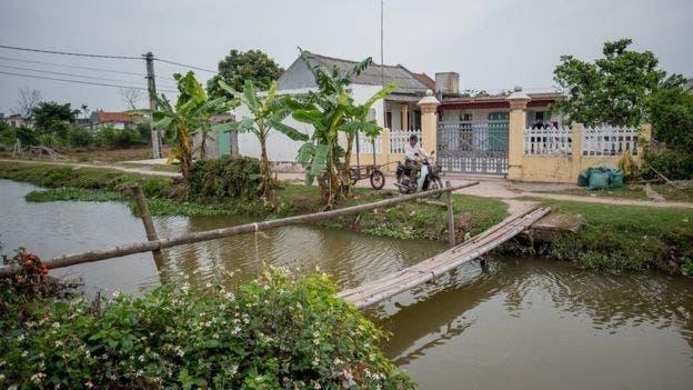 La familia de Huong vive en una zona rural vietnamita.