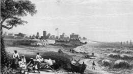 La ciudad de Madrás, en India, fue fundada por la East India Company.