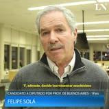 Elecciones 2017: cuál será el primer proyecto de ley de Felipe Solá si llega al Congreso