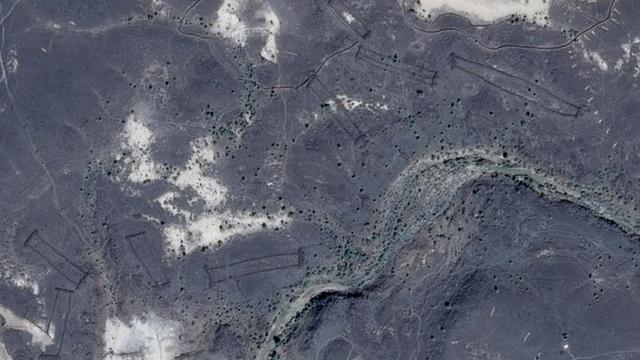 Antiguamente esta región era mucho más habitable que en la actualidad. (Foto: Google Earth)