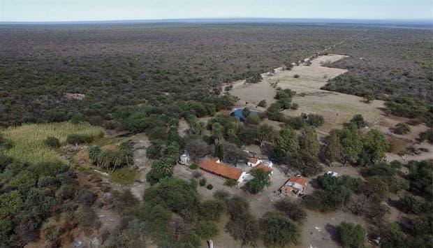 Las tierras son parte de la erogación del Chaco seco y conservan especies en vía de extinción