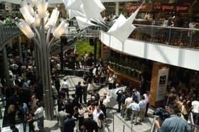 La inauguración de Falabella, en diciembre último, reunió a una multitud