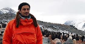 Daniel Tognetti presenta los episodios desde la Antártida