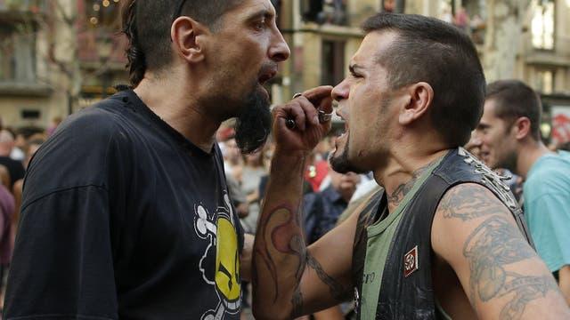 Una protestas islamófoba provocó tensión