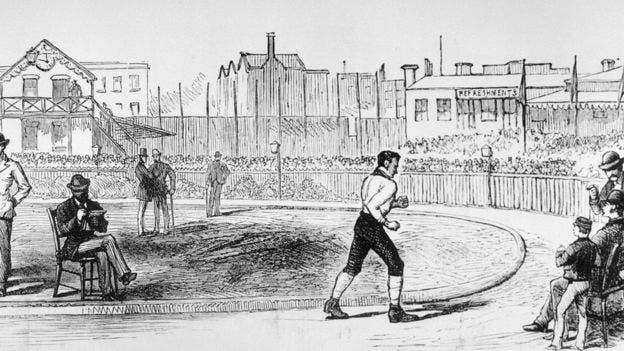 Si bien en el inicio de las Olimpiadas modernas se corría en el sentido de las agujas del reloj, ya había pruebas de carreras que iban en otra dirección