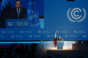 Ban Ki-Moon habló en plenario general de la Cumbre de Cambio Climático e instó a los países a suscribir un acuerdo real a futuro