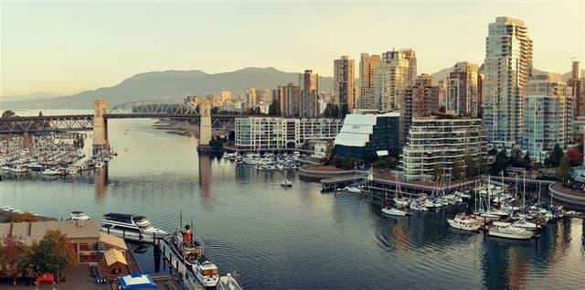 El puerto de Vancouver, en Canadá