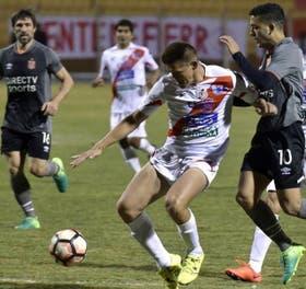 Rodríguez, el goleador, no puede contra Hoyos