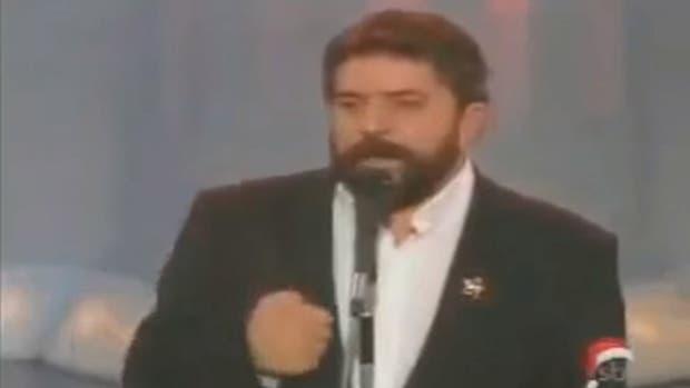 Lula da Silva, en 1988