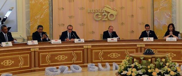 Cristina Kirchner, asiste al segundo día de la cumbre del G20