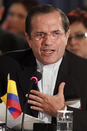 Patiño, el canciller de Ecuador