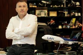 El vicepresidente ejecutivo de LAN, Enrique Cueto