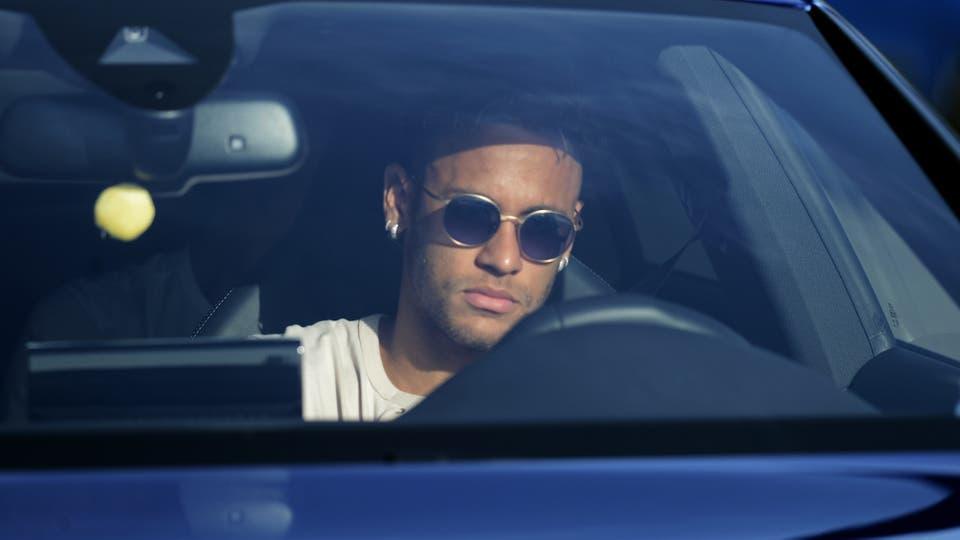 Neymar se despidió de sus compañeros del Barcelona