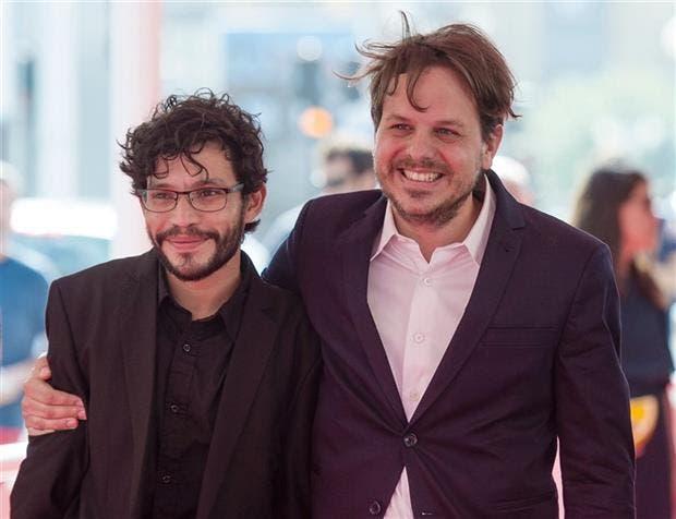 Cristian Salguero y Torres, hace dos semanas, en San Sebastián