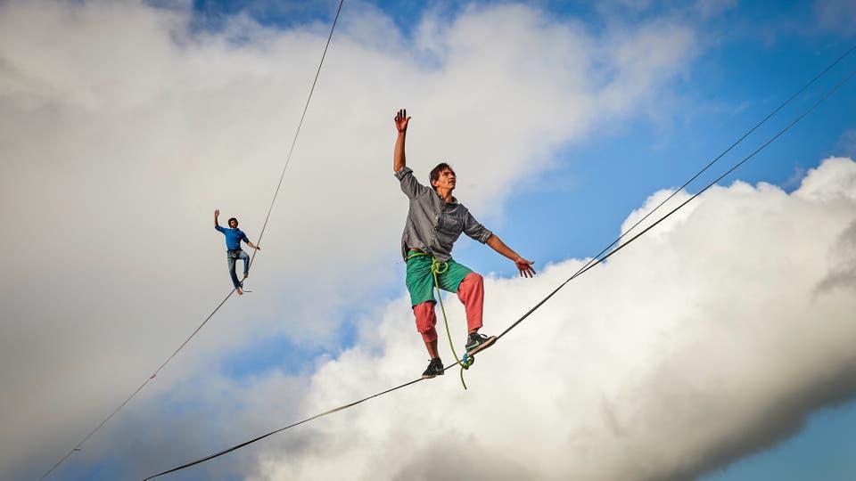 Sebastian Gum Chung Segraves y Daniel Laruelle de Sudáfrica. Foto: AFP / Michael Buholzer