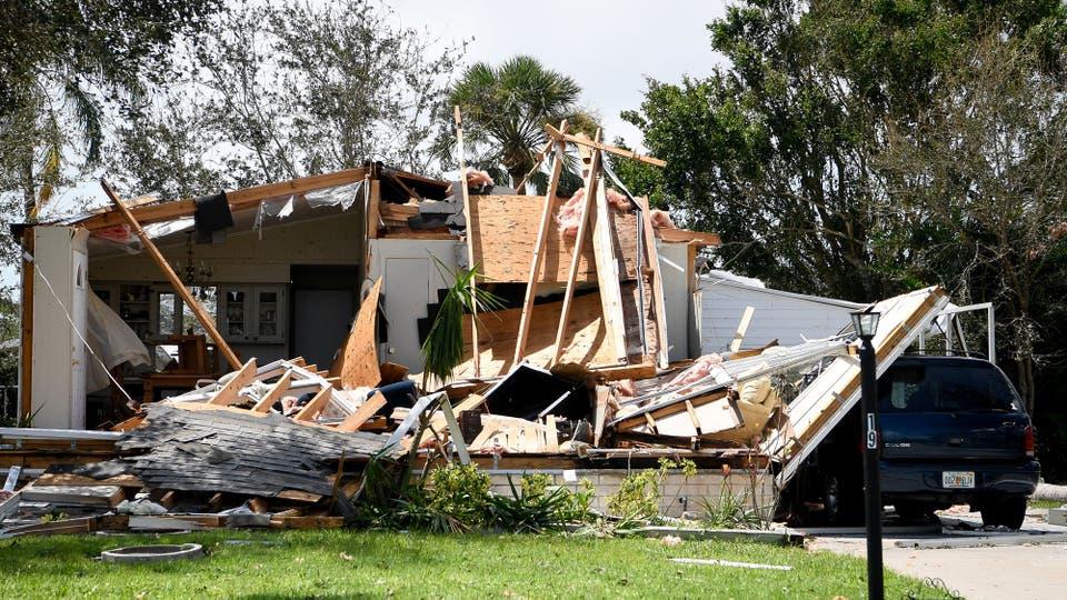 La compañía de modelos de riesgo catastróficos AIR Worldwide calculó que la pérdida estimada en Estados Unidos por Irma estaría en un rango entre 20 mil millones de dólares y 40 mil millones de dólares. Foto: Reuters
