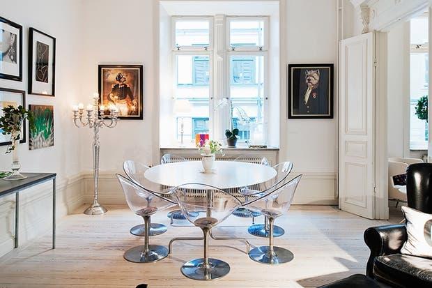 Mesas redondas inspiradoras: elegí tu modelo preferido   living ...