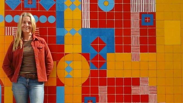 Silvia Barbero es una apasionada del arte desde chica, pero nunca se planteó estudiar una carrera relacionada porque tenía habilidades para la ciencia y la matemática