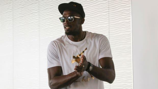 Bolt se prepara para competir en la Diamond League de Mónaco