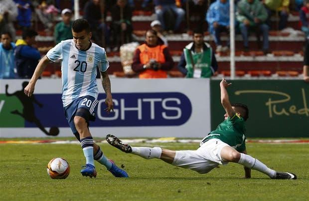 El futbolista Ángel Correa