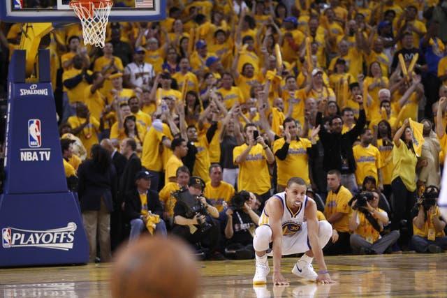 Stephen Curry, vital para la suerte de los Warriors en la serie frente a los Spurs