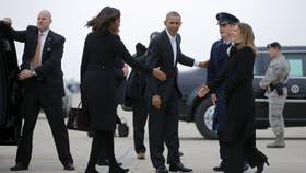 Obama viaja con su esposa y su familia a Cuba, donde se encontrará con empresarios y legisladores norteamericanos
